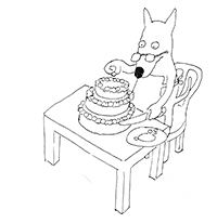 hund-pynter-kage